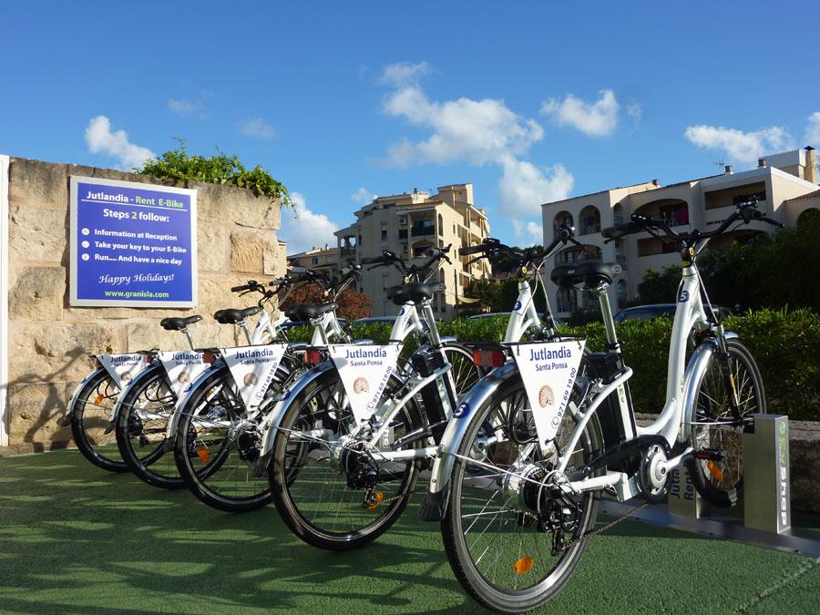 Alquiler bicicletas eléctricas Jutlandia