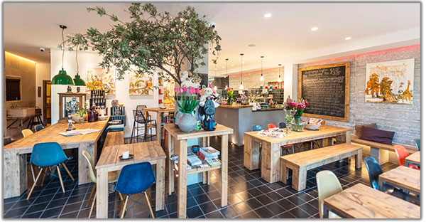 restaurante dezentral Marbella costa del sol bicitur