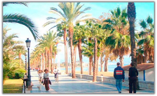 paseo marítimo san pedro marbella costa del sol